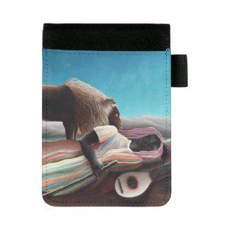 Miniportafolios Henri Rousseau el vintage gitano el dormir