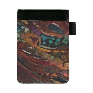 Miniportafolios Mirada reflexiva abstracta colorida