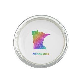 Minnesota Anillo Con Foto