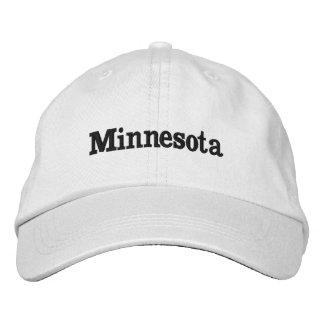 Minnesota Gorra Bordada