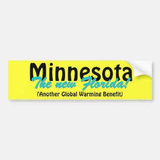 Minnesota la nueva Florida Pegatina Para Coche