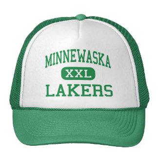 Minnewaska - Lakers - área - Glenwood Minnesota Gorras De Camionero