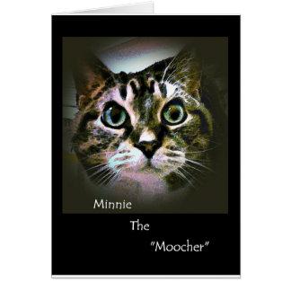Minnie el Moocher Tarjeta De Felicitación