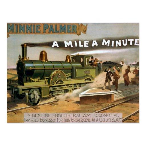 """Minnie Palmer, """"una milla"""" un teatro minucioso del Postal"""