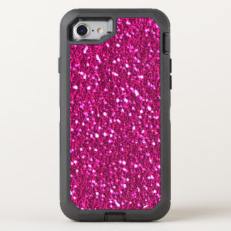 Mirada brillante Bling del brillo de las rosas Funda OtterBox Defender Para iPhone 8/7