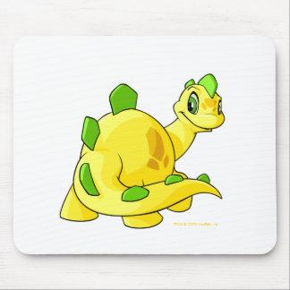 Mirada de Chomby amarillo Alfombrilla De Ratón