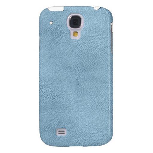 Mirada de cuero azul clara iPhone3G