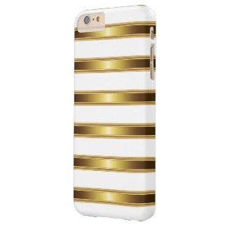 Mirada de lujo del oro funda barely there iPhone 6 plus