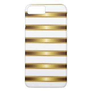 Mirada de lujo del oro funda iPhone 7 plus