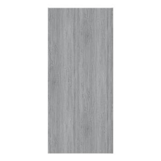 Mirada de madera de bambú del grano del gris de tarjeta publicitaria personalizada