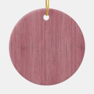 Mirada de madera de bambú púrpura de color de adorno redondo de cerámica