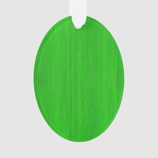 Mirada de madera de bambú verde clara