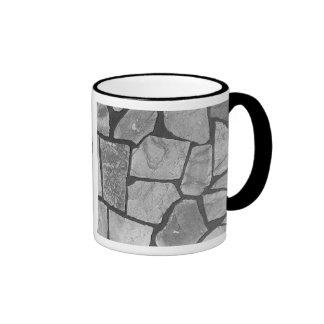 Mirada de pavimentación de piedra gris decorativa taza de dos colores