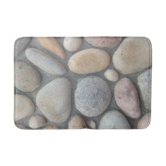 Mirada de piedra masonary alfombrilla de baño
