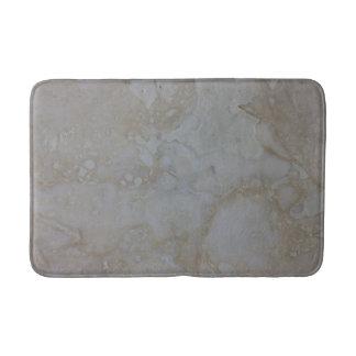 Mirada de piedra - travertino alfombrilla de baño