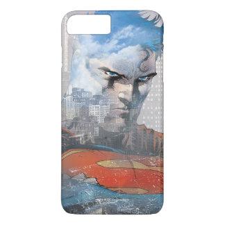 Mirada fija del superhombre funda iPhone 7 plus