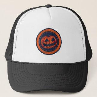 Mirada llevada anaranjada del octágono de la gorras de camionero