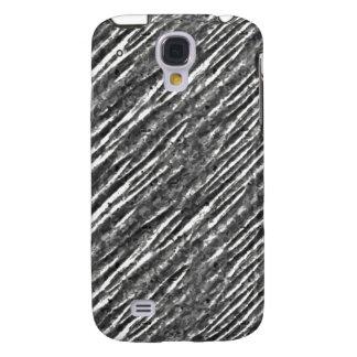 Mirada metálica iPhone3G de la hoja de plata Samsung Galaxy S4 Cover