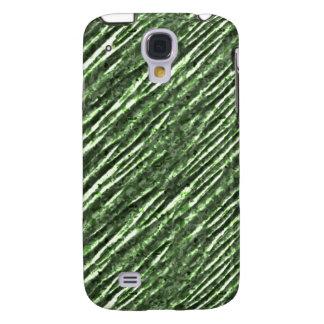 Mirada metálica iPhone3G de la hoja verde Carcasa Para Galaxy S4