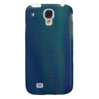 Mirada metálica iPhone3G del verde azul