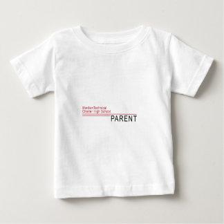 Mirada oficial del padre orgulloso de MTCHS Camiseta De Bebé