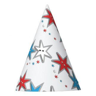 Miradas estrelladas - un gorra patriótico del