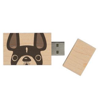 Mirando a escondidas memoria USB del arce de USB