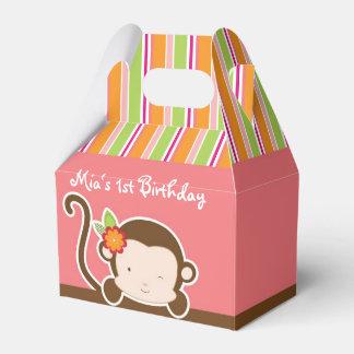 Mire a escondidas las cajas rayadas safari del caja para regalos