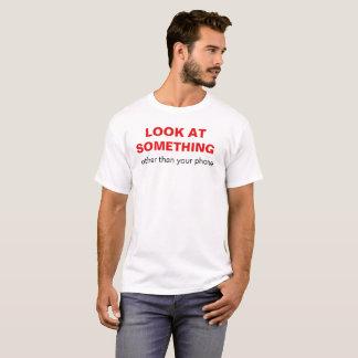"""""""Mire algo con excepción camiseta de su teléfono"""""""