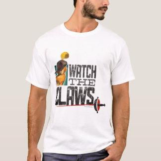 Mire las garras camiseta