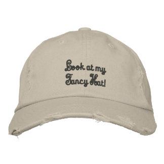 ¡Mire mi gorra de lujo! Gorra Bordada
