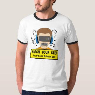 Mire su paso camiseta