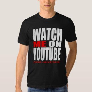 Míreme en YouTube (moderno) Camisas