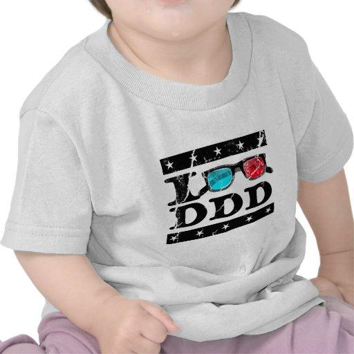 Miro 3D Camisetas