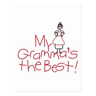 Mis abuelas el mejor postal
