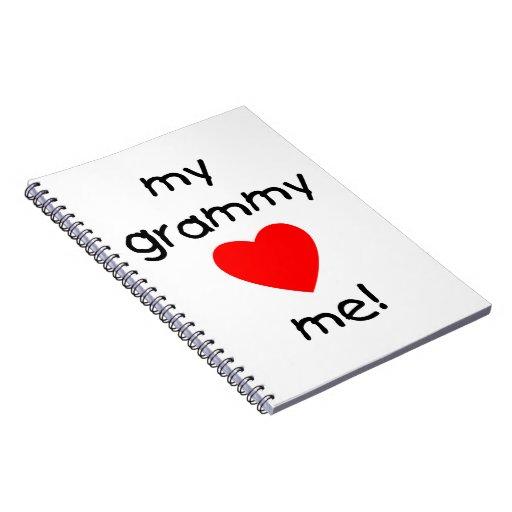 mis amores grammy yo cuaderno