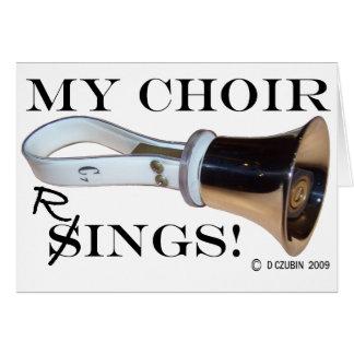 Mis anillos del coro felicitacion