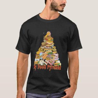 Mis bocados de Junk Food del ~ de la pirámide de Camiseta