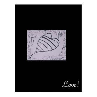 Mis diseños del arte. postal