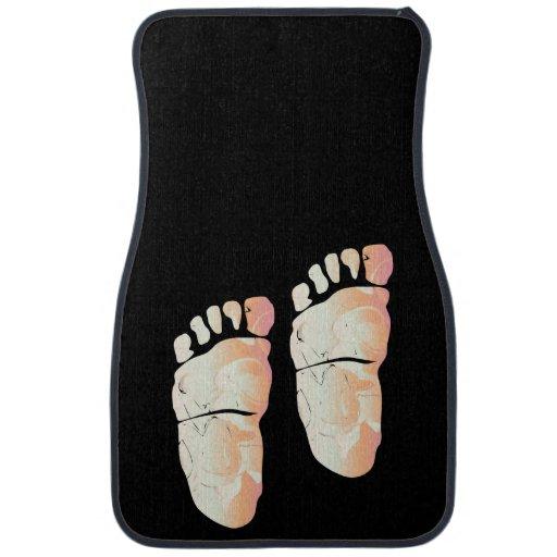 ¡Mis dos pies izquierdos! - Alfombrilla de auto Alfombrilla De Coche