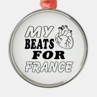 Mis golpes de corazón para Francia Ornamentos De Reyes Magos