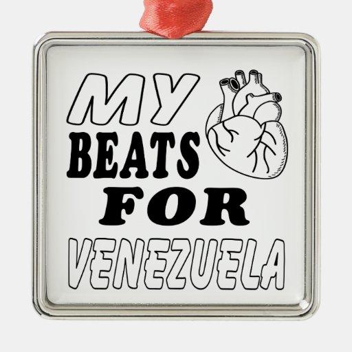 Mis golpes de corazón para Venezuela Ornato