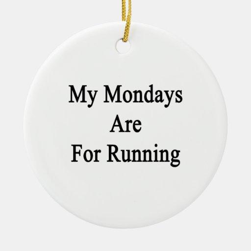 Mis lunes están para correr ornamentos de reyes magos