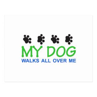 Mis paseos del perro postal
