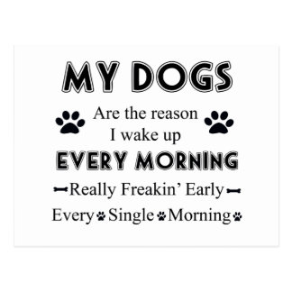 Mis perros postal