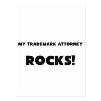 ¡MIS ROCAS del abogado de la marca registrada! Postales