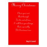 Mis tarjetas de felicitación románticas del navida