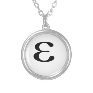 Miscellaneous - (Little) Epsilon Pattern Collar Plateado
