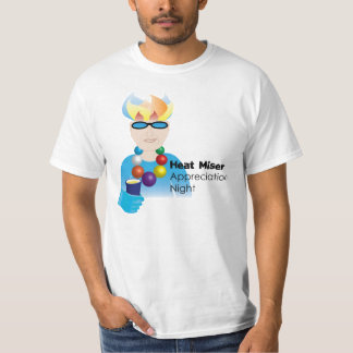 Miser del calor - (el gruñir indistinguible) camiseta