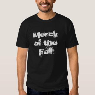 Misericordia de la caída camisetas